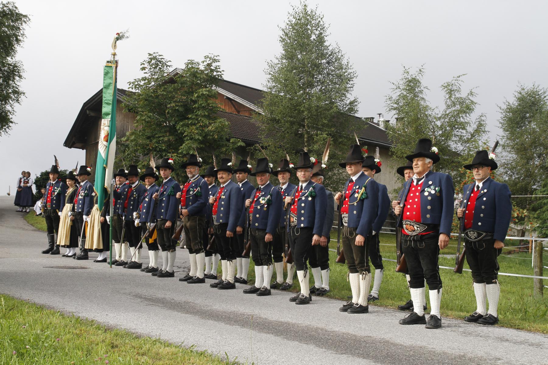 Schützenkompanie Gnadenwald August 2015